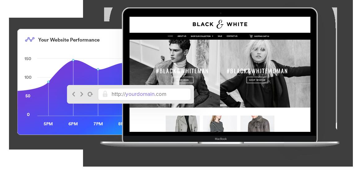 instant website free